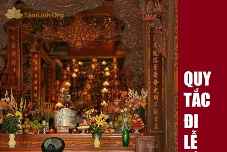 18 quy tắc cần nhớ khi đi lễ đền, chùa?