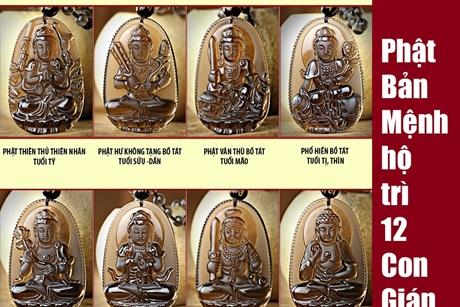 Bí mật về 8 vị Phật bản mệnh hộ trì cho 12 con giáp