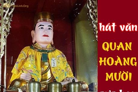 Hoài Thanh hát văn dâng quan Hoàng Mười cực hay
