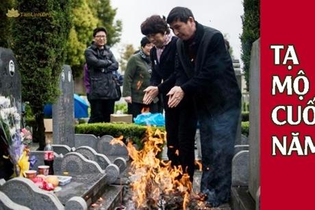 Hướng dẫn tạ mộ cuối năm để gia tiên an yên mát mẻ