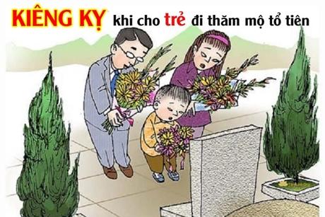 Những KIÊNG KỴ khi cho trẻ nhỏ đi thăm/viếng mộ tổ tiên