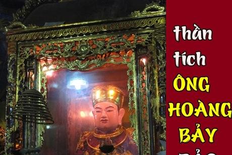 Thần tích ông Hoàng Bảy Bảo Hà