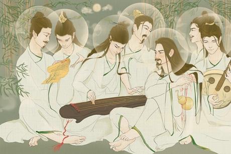 Trúc Lâm Thất Hiền: Nguồn gốc, hình dạng và thị hiện