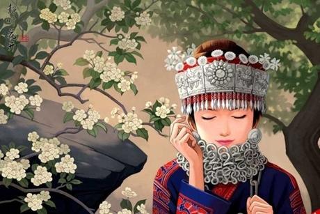 Truyền thuyết: Cô gái đẹp và hạt gạo