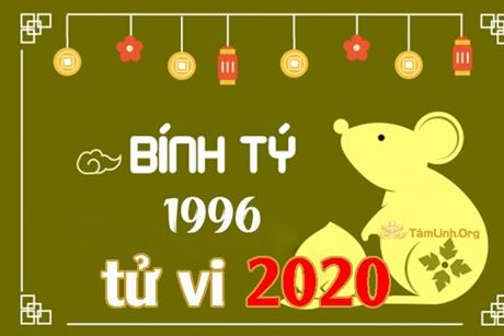 Tử vi năm 2020 tuổi Bính Tý 1996 Nam mạng