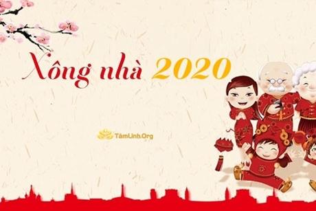 Tuổi xông nhà, xông đất Tết Canh Tý 2020
