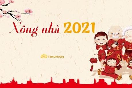Tuổi xông nhà, xông đất Tết Tân Sửu 2021
