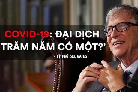 Tỷ phú Bill Gates: Thông điệp tâm linh từ đại dịch Covid-19