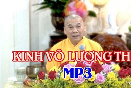 Vô Lượng Thọ Kinh, thầy Thích Trí Thoát tụng, MP3
