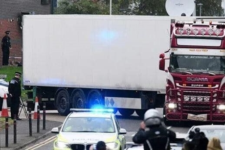 Vụ 39 người chết tại Anh: Hành trình của chuyến xe tử thần